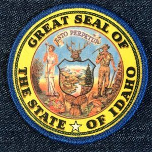 Great Seal of the State of Idaho patch